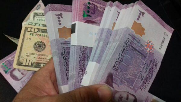 الليرة السورية مقابل الدولار- تعبيرية