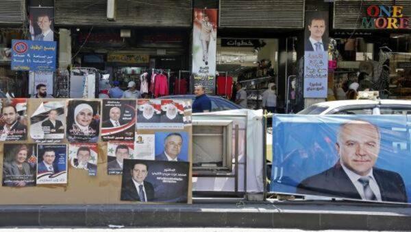 انتخابات برلمان الأسد - أرشيف