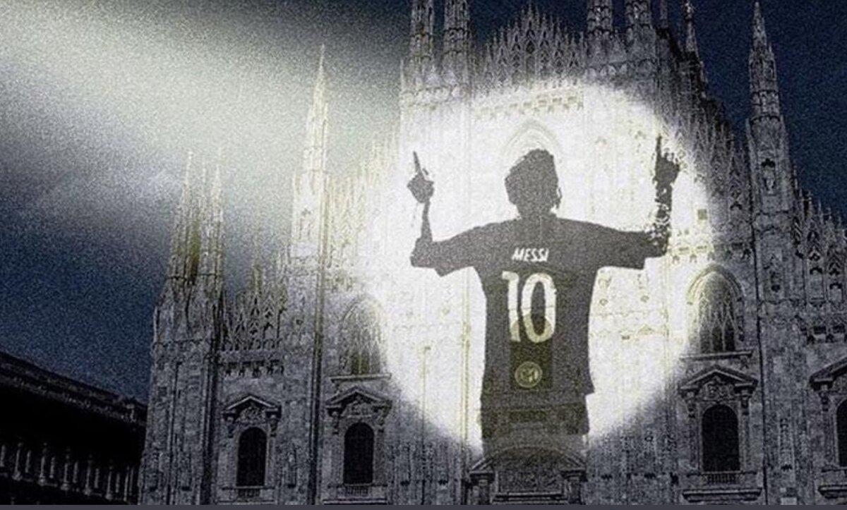 برشلونة قد يقاضي الإنتر بسبب هذه الصورة - وكالات