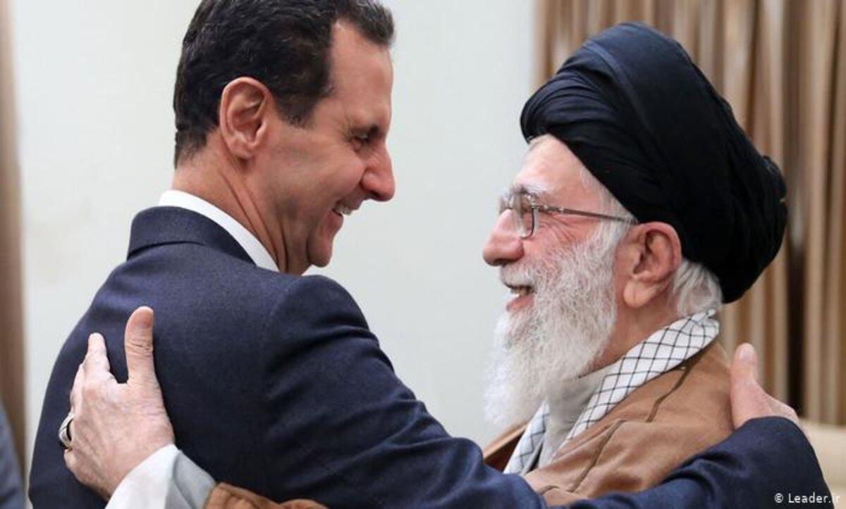 بشار الأسد وعلي خامنئي - أرشييف