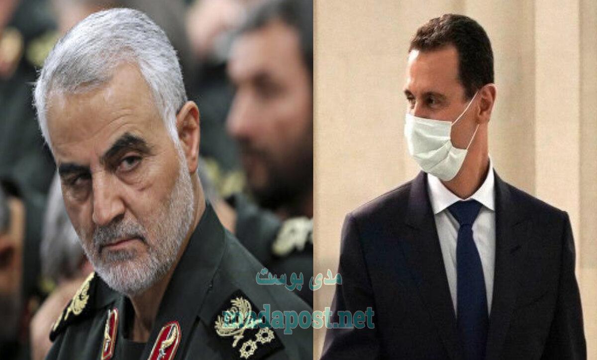 بشار الأسد وقاسم سليماني - مدى بوست