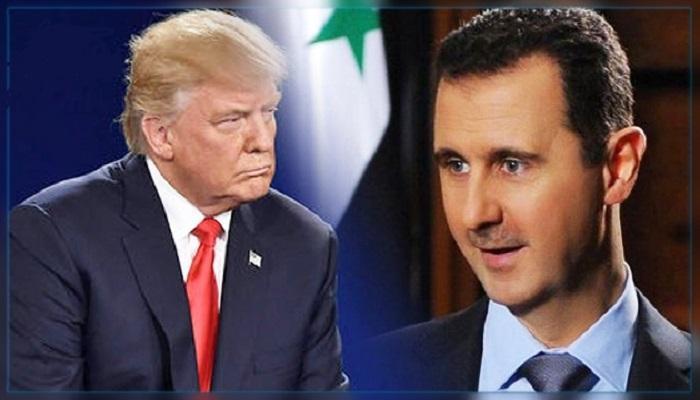 ترامب والأسد - تعبيرية