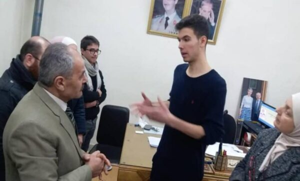 حافظ الأسد نجل بشار - مواقع التواصل (1)