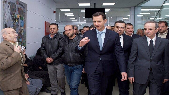 بشار الأسد - نيويورك تايمز