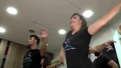 "Photo of ""رقص السالسا"" داخل دمشق.. وكالة أنباء تثير جدل وسخرية السوريين: ما ناقصنا شي غير الرقص ""فيديو"""
