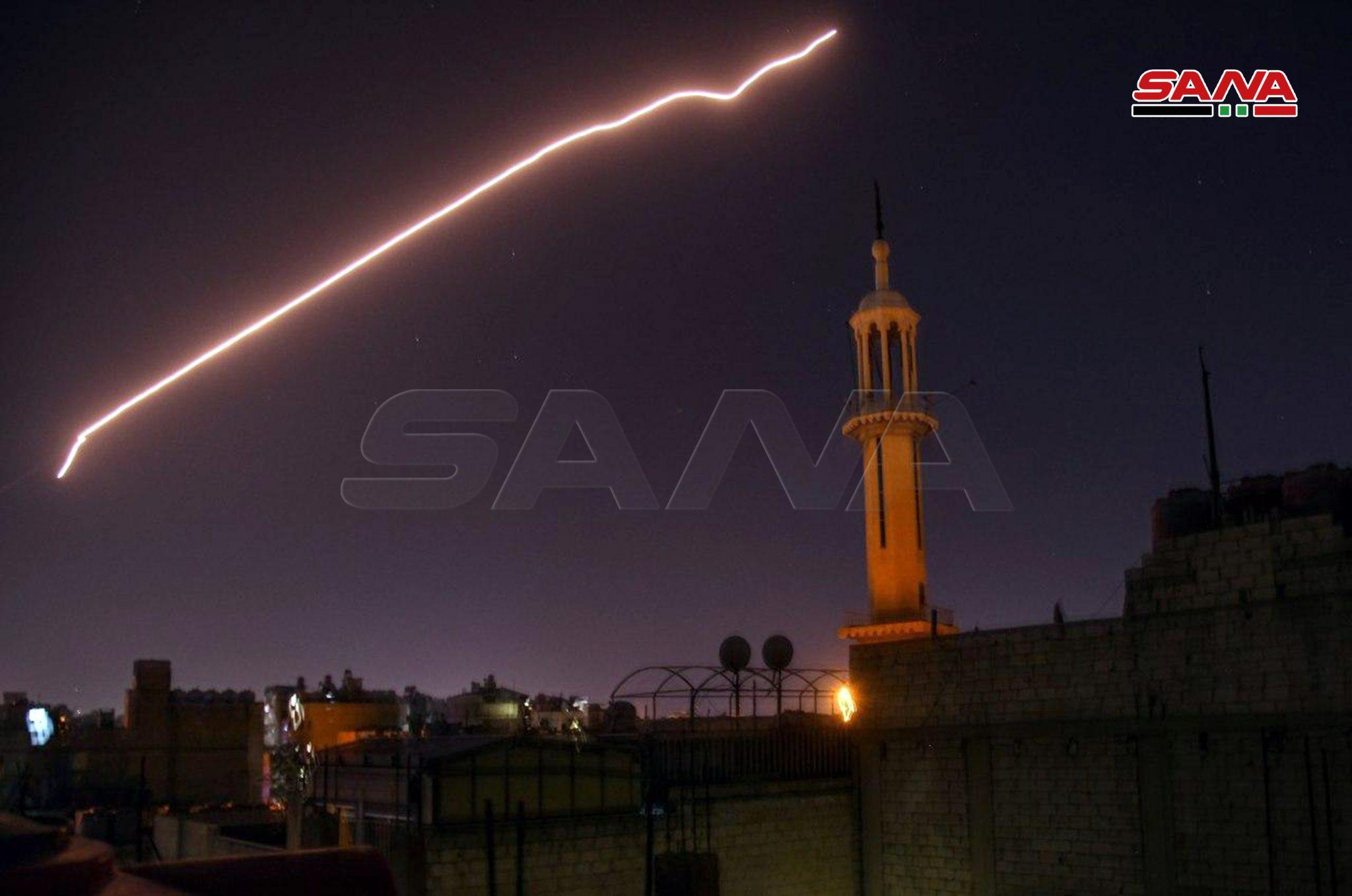 سانا تـ.زعم تصـ.دي الأسد لغــ.ارات إسرائيلية