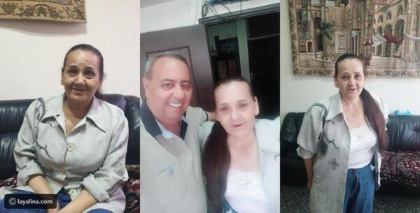 صباح السالم بعد خروجها من السجن - ليالينا