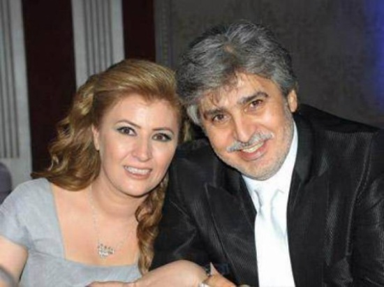 عباس النوري وزوجته عنود الخالد