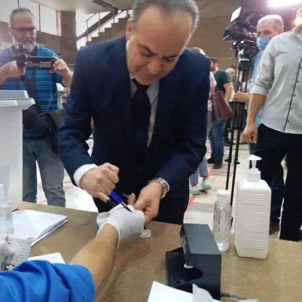 عماد خميس في انتخابات برلمان الأسد -إذاعة شام