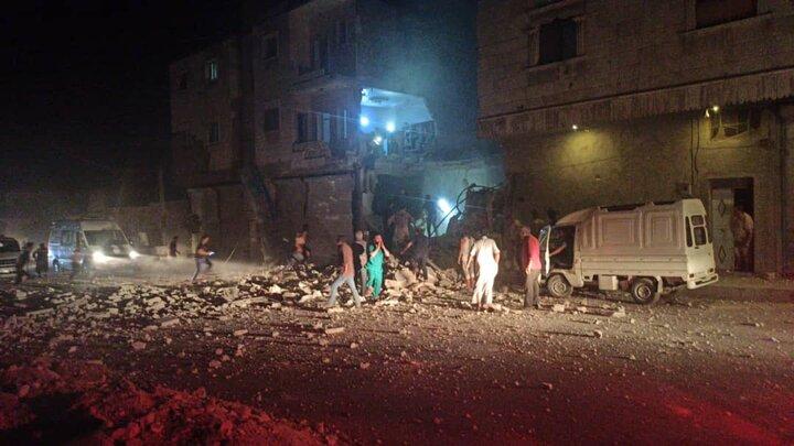 مدينة الباب - ريف حلب الشرقي - تويتر
