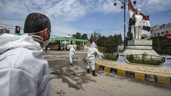 كورونا في مناطق النظام السوري - مواقع التواصل