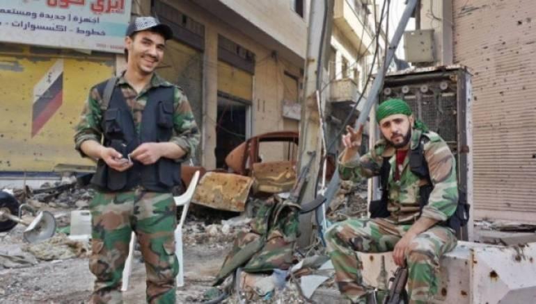 ميليشيات تابعة لنظام الأسد في دمشق- أرشيف