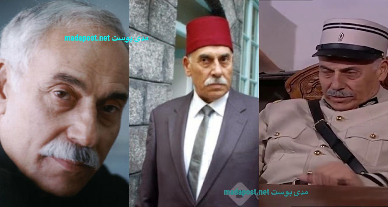 الممثل السوري هاني شاهين