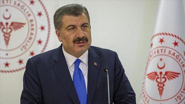وزير الصحة التركي فخر الدين قوجة - وكالات
