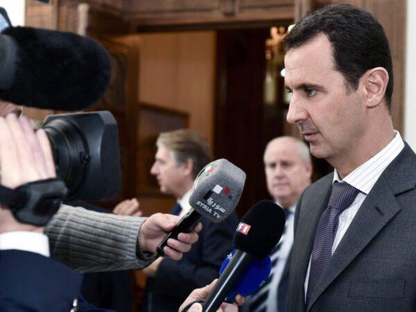 بشار الأسد - مواقع غربية