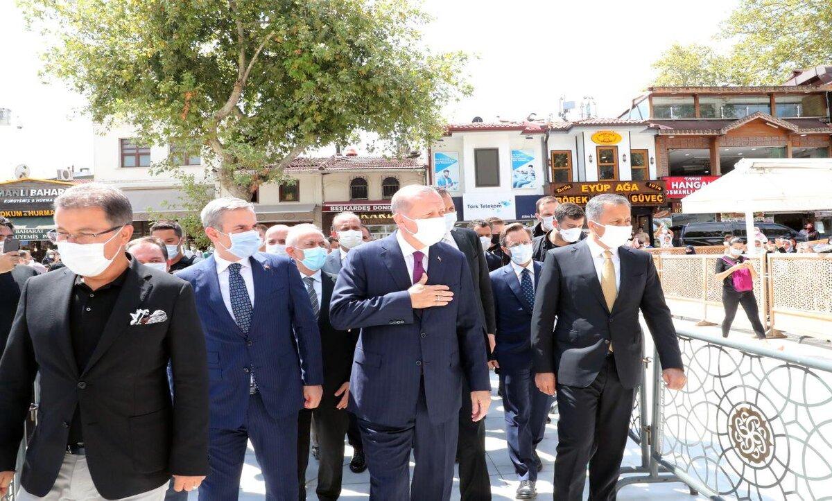 أردوغان اليوم الجمعة - وكالات