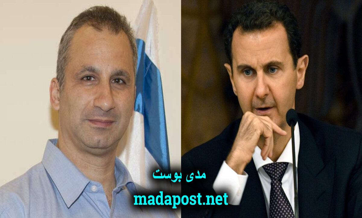 إيدي كوهين وبشار الأسد - مدى بوست