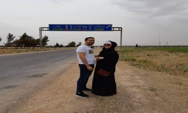 الأكاديمية السورية هبة عز الدين في ريف إدلب