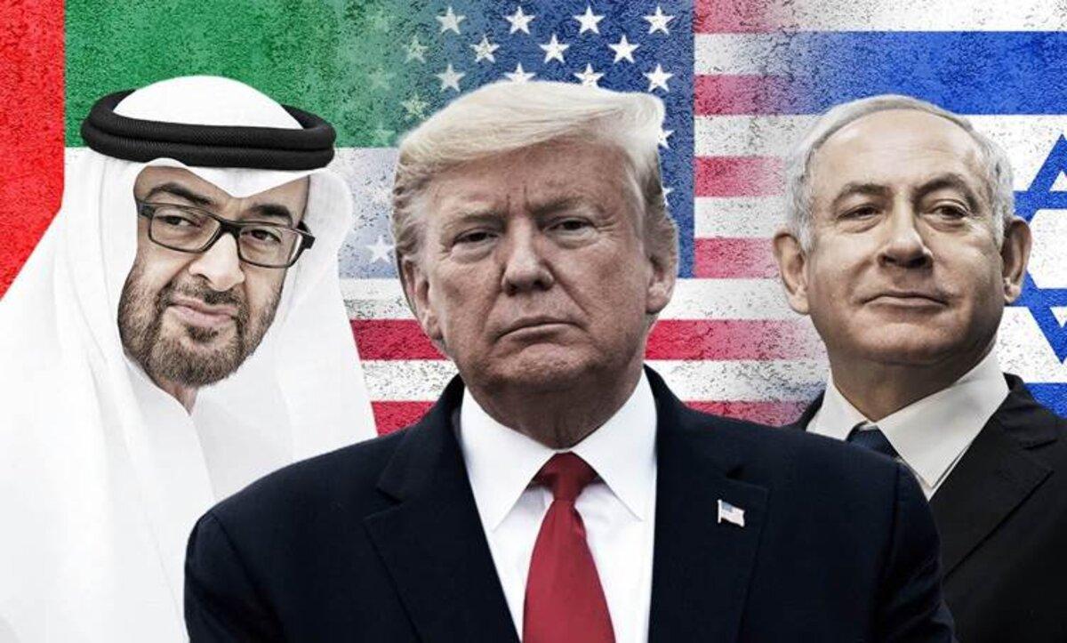 التطبيع مع إسرائيل برعاية أمريكية - تعبيرية