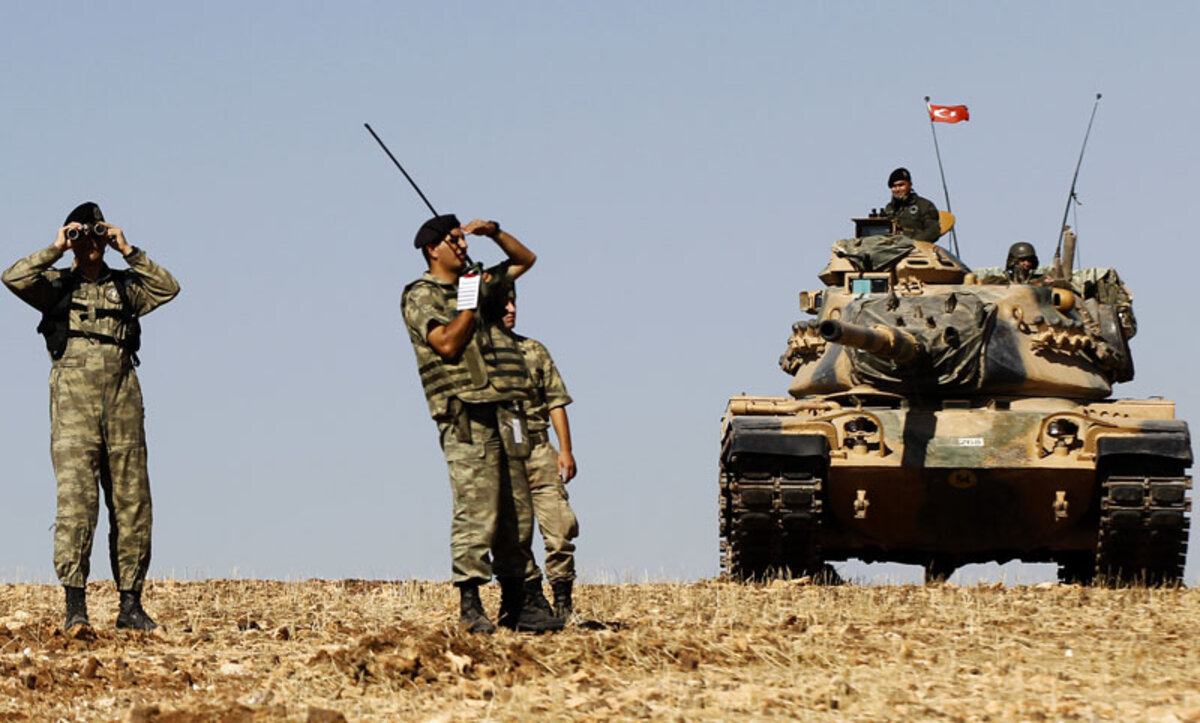 الجيش التركي في الشمال السوري - وكالات (1)