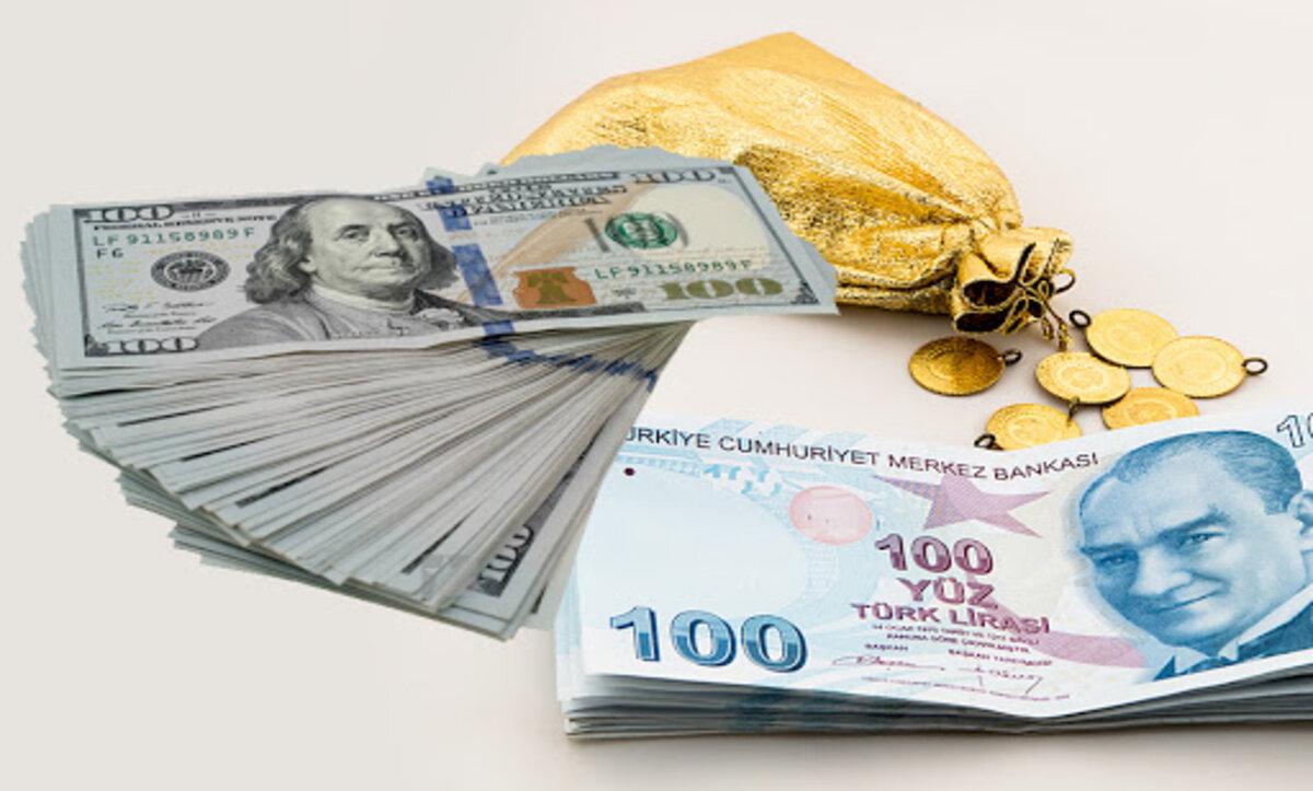 الدولار والذهب والليرة التركية - تعبيرية