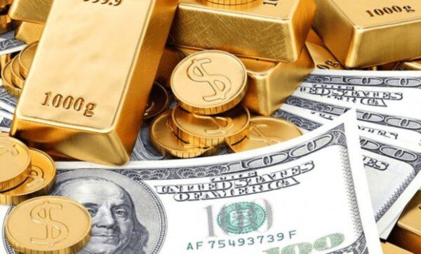 الذهب والدولار - تعبيرية