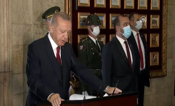 الرئيس أردوغان - الأناضول
