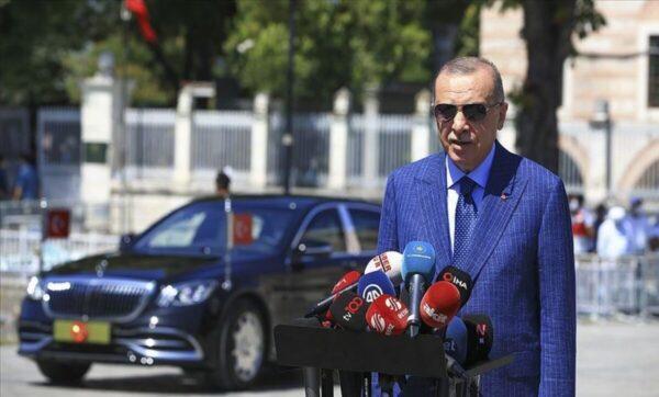 الرئيس التركي رجب طيب أردوغان - الأناضول
