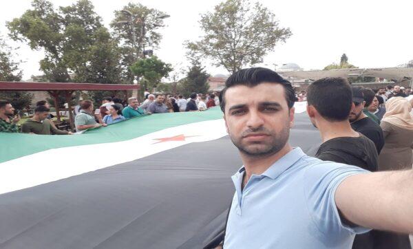 الصحفي السوري ماجد شمعة - فيسبوك