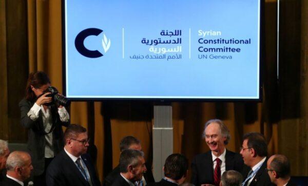 محادثات اللجنة الدستورية السورية - وكالات