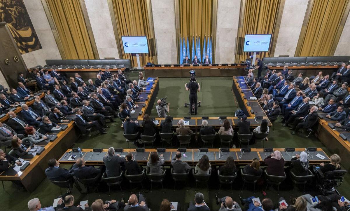 اللجنة الدستورية السورية - وكالات