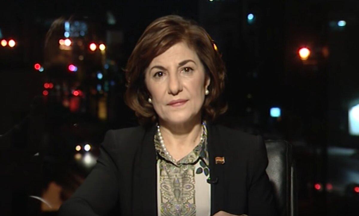 بثينة شعبان - مقابلة متلفزة - مدى بوست