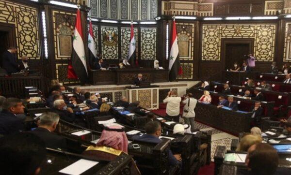 برلمان الأسد الجديد في أول جلساته - مدى بوست