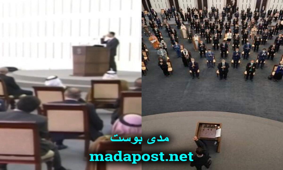 بشار الأسد في مجلس الشعب - مدى بوست