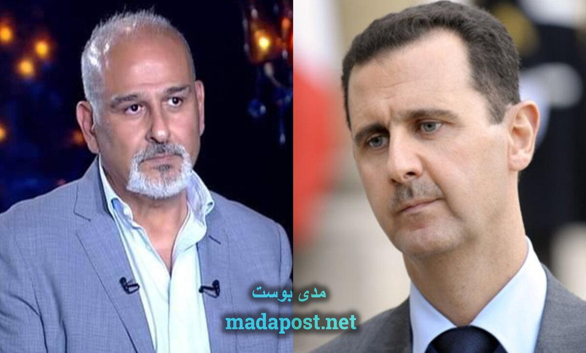 بشار الأسد وجمال سليمان - مدى بوست