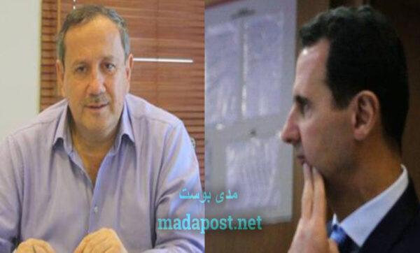 بشار الأسد وفراس طلاس -مدى بوست