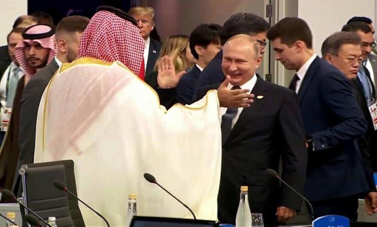 بوتين مع ولي العهد السعودي - وكالات