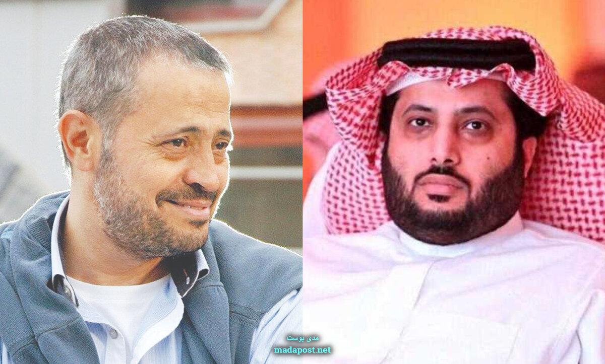 تركي آل الشيخ وجورج وسوف أبو وديع - مدى بوست