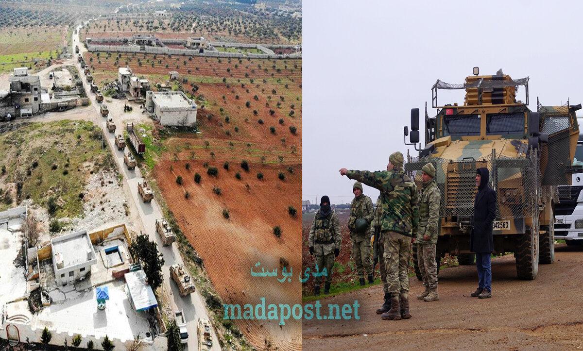 تعزيزات عسكرية في الشمال السوري - مدى بوست