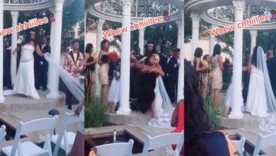 """Photo of امرأة تفاجئ زفافاً لتقول للحضور: أنا حامل من العريس """"فيديو"""""""