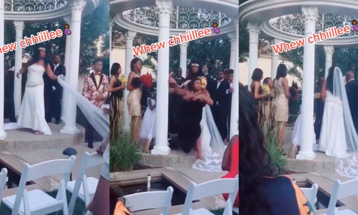 حفل زفاف في أمريكا - مواقع التواصل