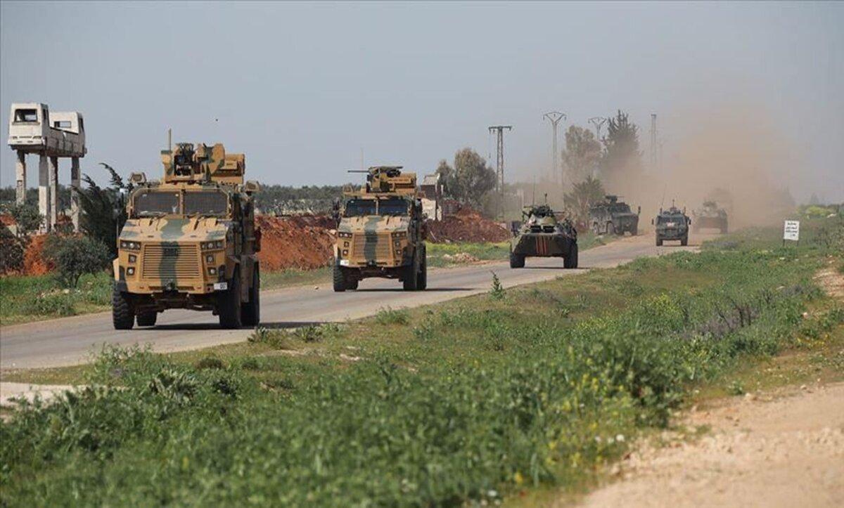 دورية روسية تركية مشتركة طريق إم4 - الأناضول