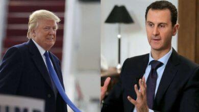 Photo of دونالد ترامب يوجّه رسالة شخصية إلى بشار الأسد