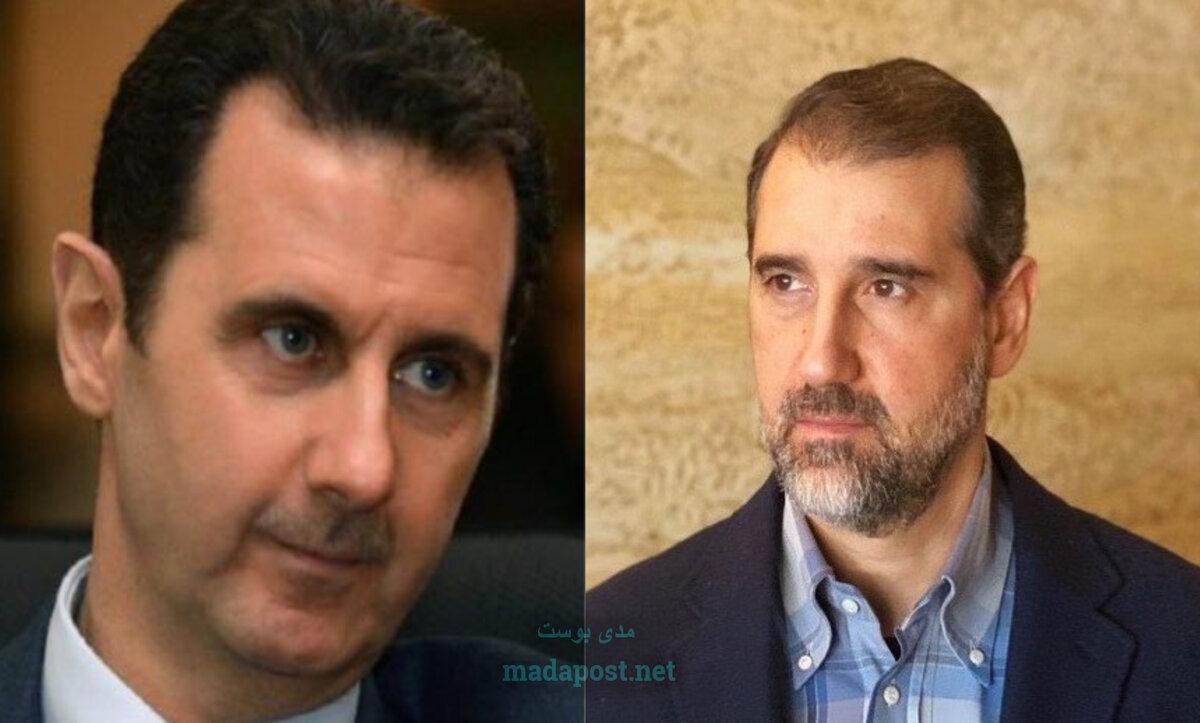 رامي مخلوف وبشار الأسد -- مدى بوست