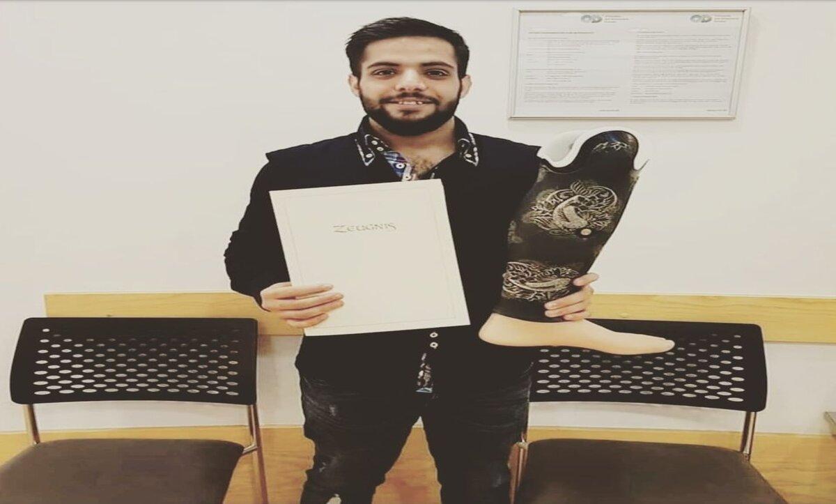 عبد الغفار - لاجئ سوري في ألمانيا