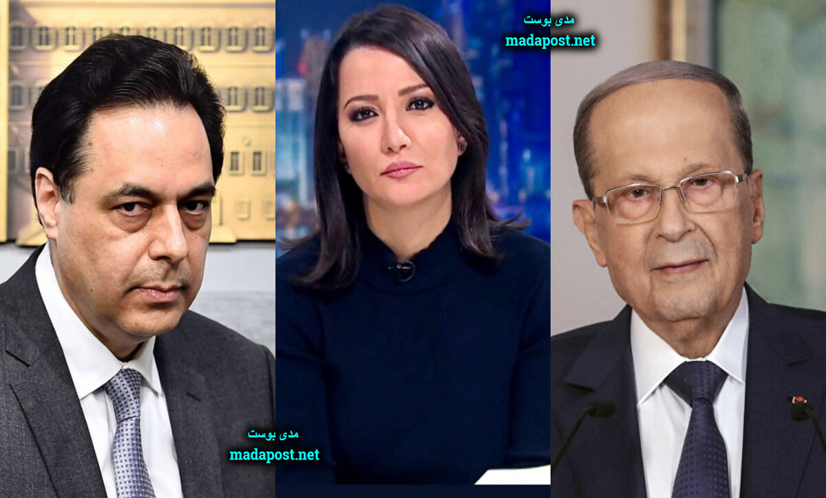 غادة عويس بين ميشال عون وحسان دياب - مدى بوست
