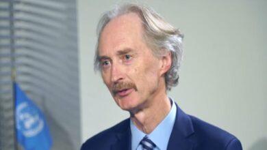 Photo of بيدرسون يتحدث عن موعد إعلان الوثيقة الدستورية السورية ونتائج اللقاءات الأخيرة