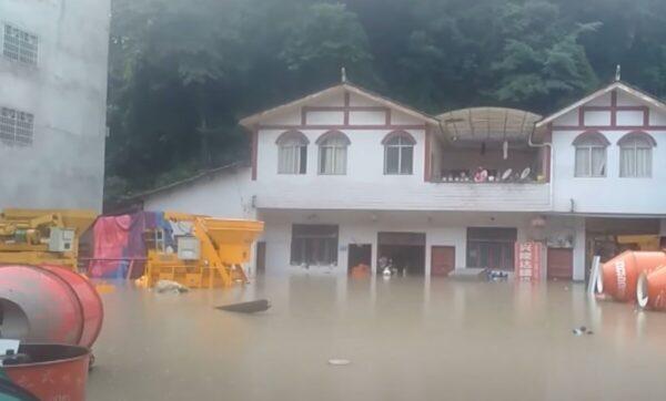 فيضانات الصين - مدى بوست