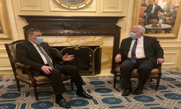 لقاء حجاب مع المبعوث الأمريكي الخاص إلى سوريا - الخارجية الأمريكية