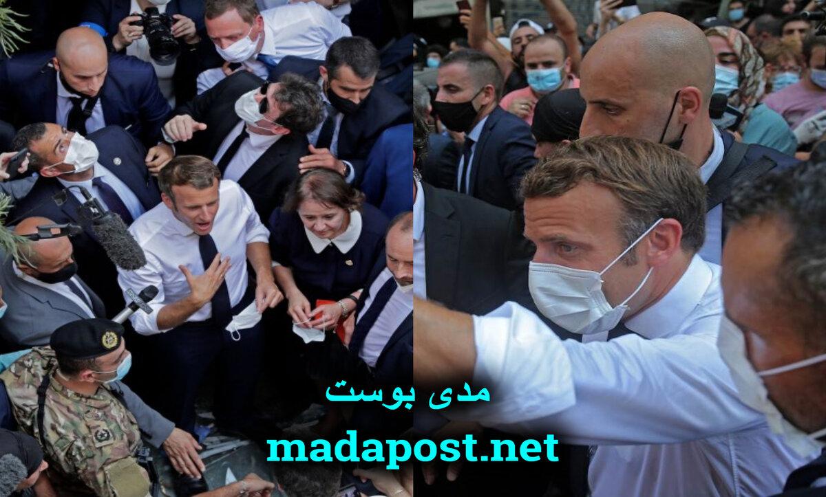 ماكرون في بيروت - مدى بوست